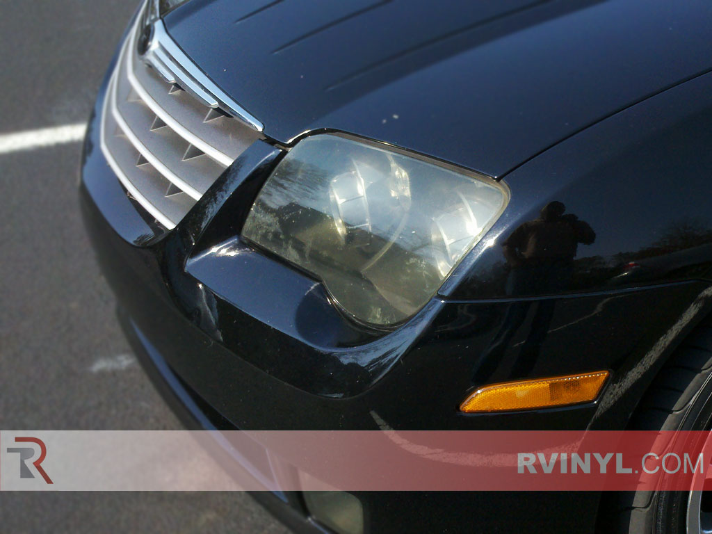 Service Manual Replace Headlights In A 2008 Chrysler Crossfire New Oem Mopar Rh Headlight