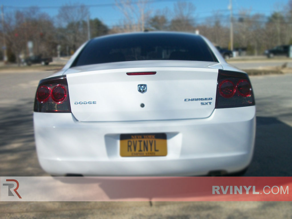 Dodge Charger Tail Lights >> Rtint Dodge Charger 2009 2010 Tail Light Tint Film