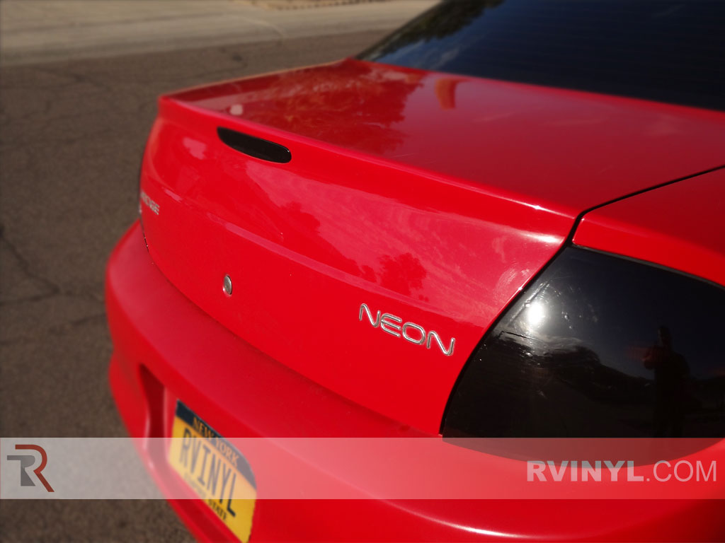 Dodge Neon 2000-2002 Tail Light Tints