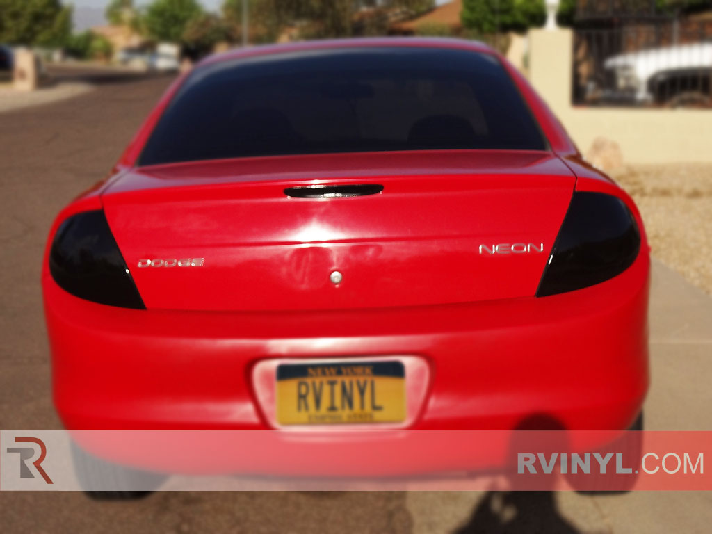 Dodge Neon 2000-2002 Smoked Tail Lights