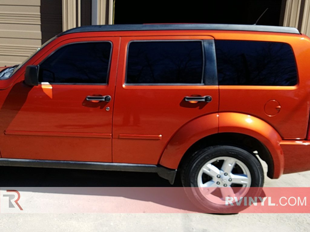 rtint dodge nitro 2007 2011 window tint kit diy precut. Black Bedroom Furniture Sets. Home Design Ideas