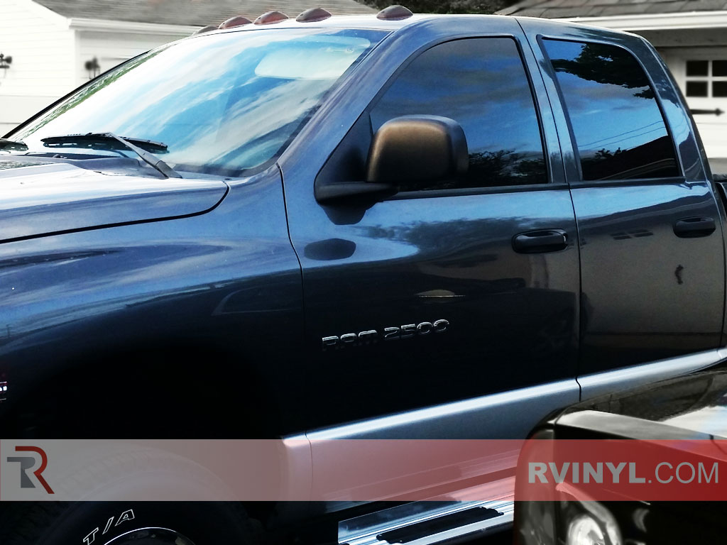 Ram Quad Cab Precut Window Tints