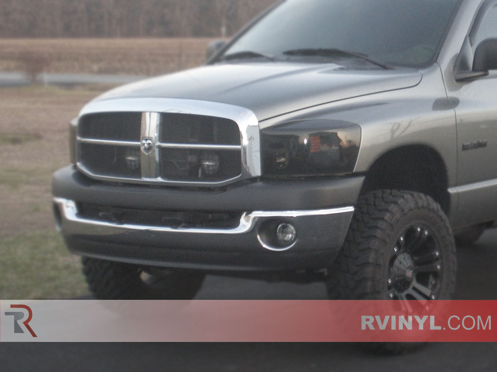 Dodge Ram 2006 2008 Blackout Headlights