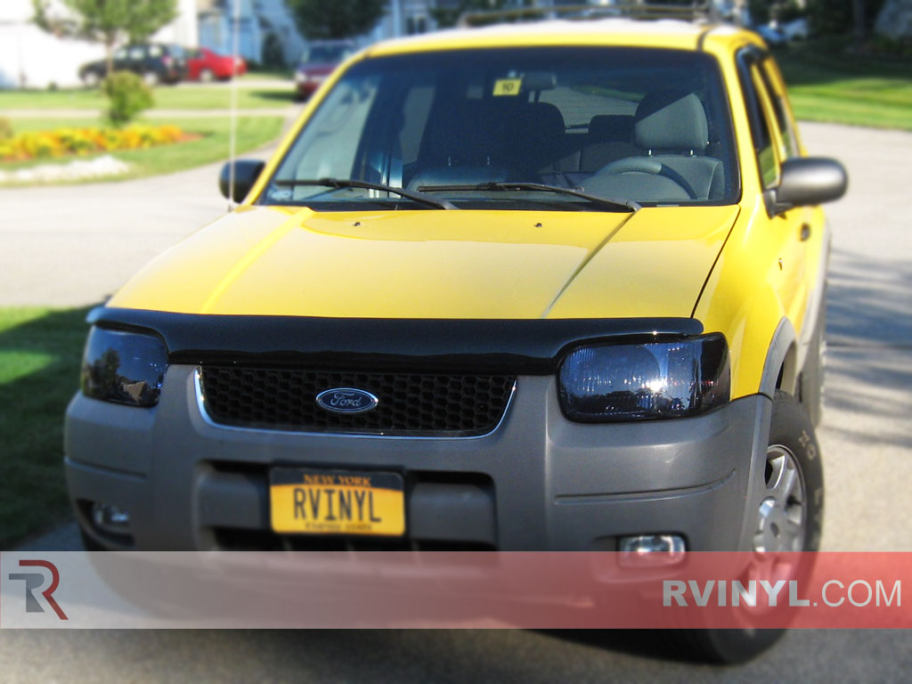 Ford Escape 2001-2004 Smoked Headlights