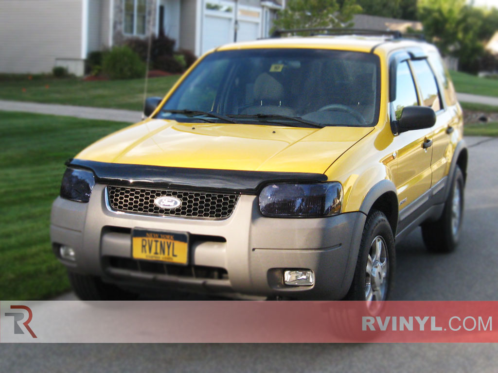 Ford Escape 2001-2004 Blackout Headlights