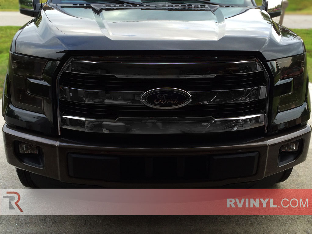 ford f 150 2015 2016 headlight covers