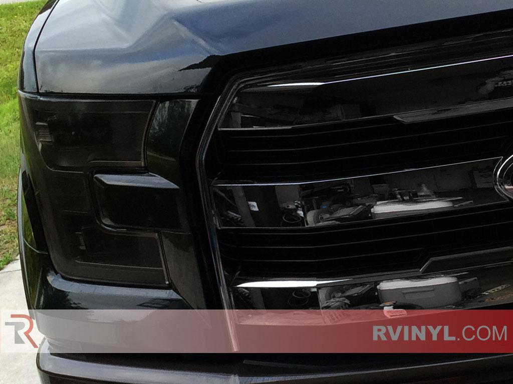 Rtint Ford F 150 2015 2016 Headlight Tint Film