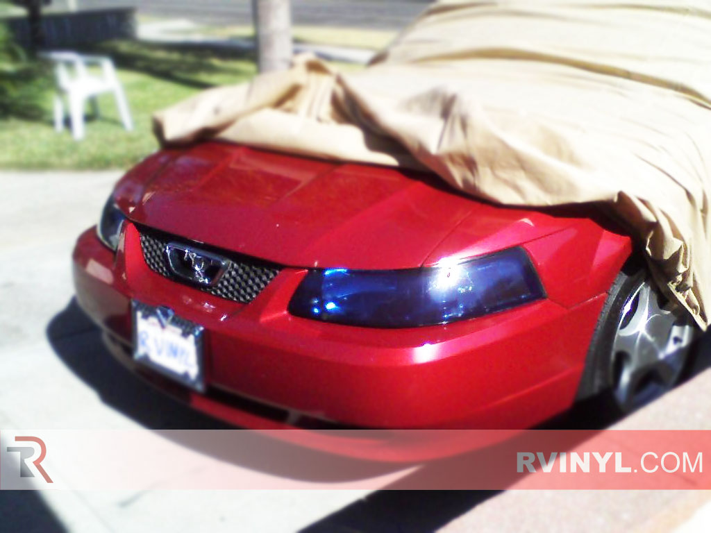 Ford Mustang 1999-2004 Blue Headlights