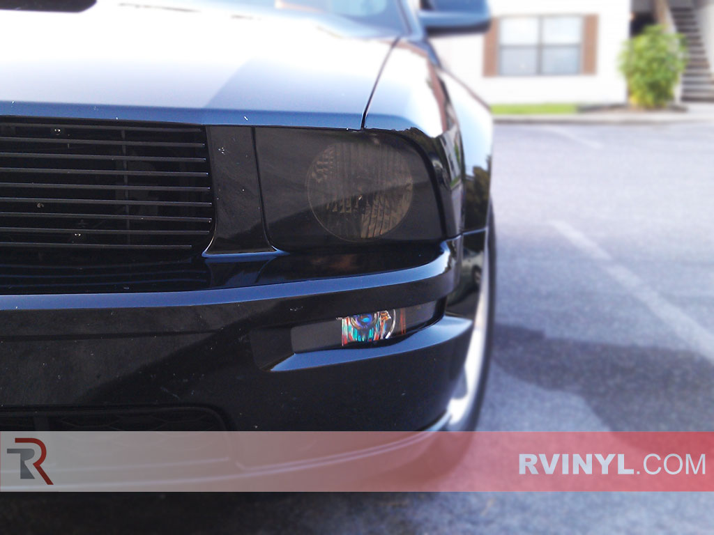 ford mustang 2005 2009 headlight covers