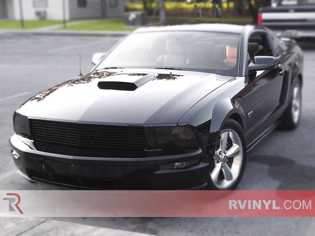 Ford mustang 2005 2009 headlight overlays
