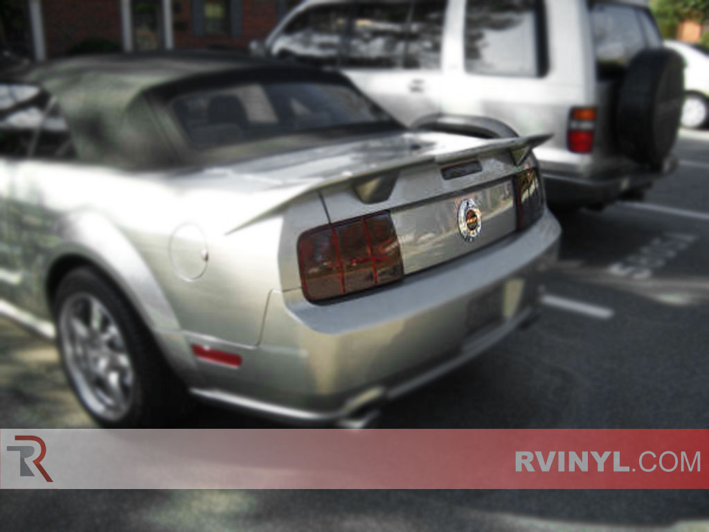Ford Mustang 2005-2009 Smoked Tail Lights