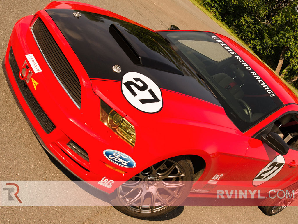 Rtint Ford Mustang Headlight Tint Film