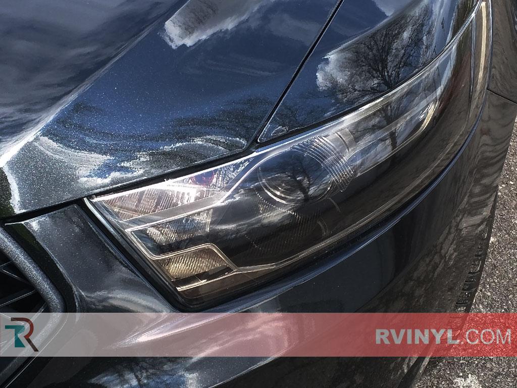 2013 Ford Taurus Headlight Replacement : Rtint™ ford taurus  headlight tint film
