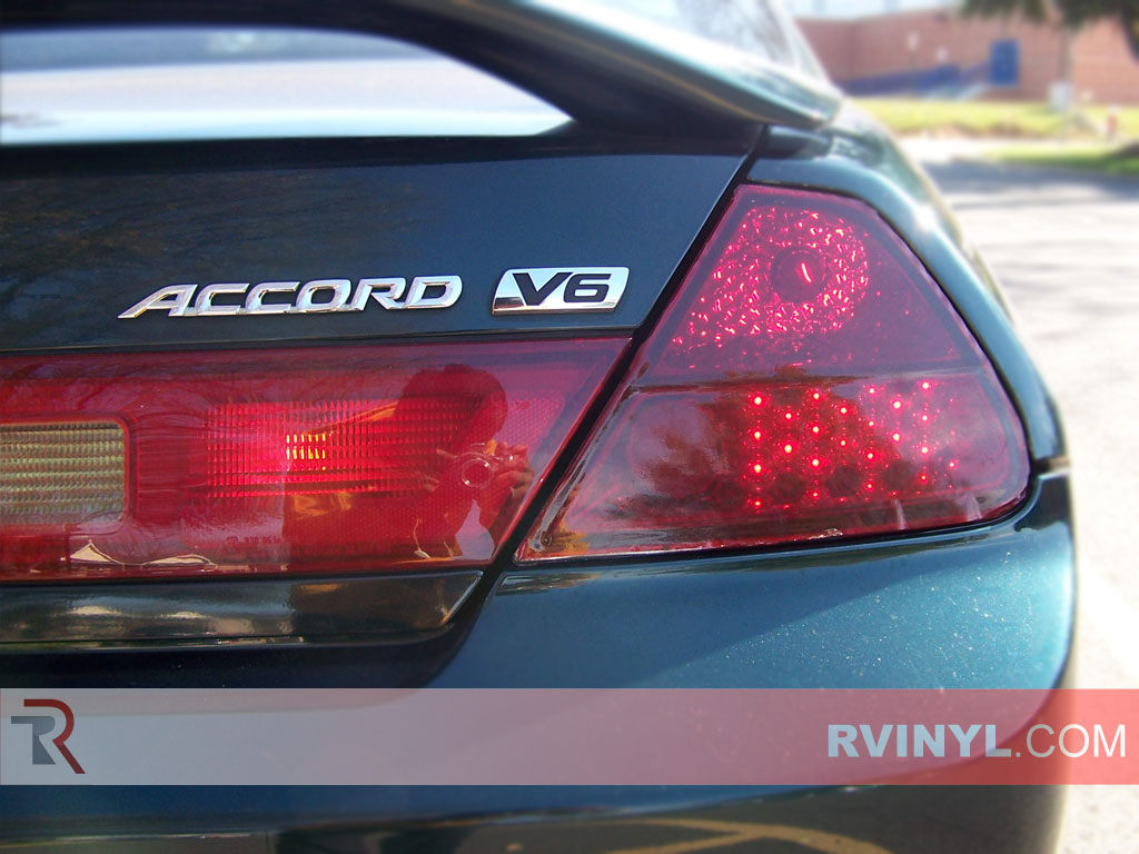 Honda Accord Coupe 1998 2002 Smoked Tail Lights