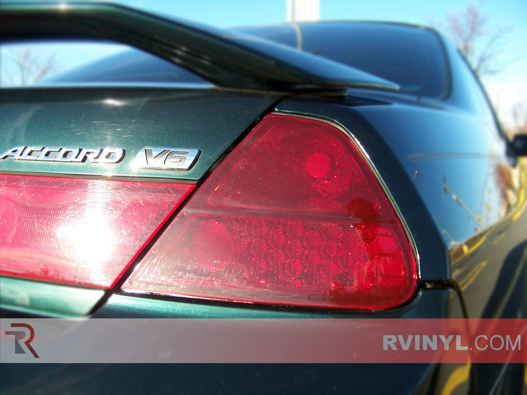 Honda Accord Coupe 1998 2002 Blackout Tail Lights