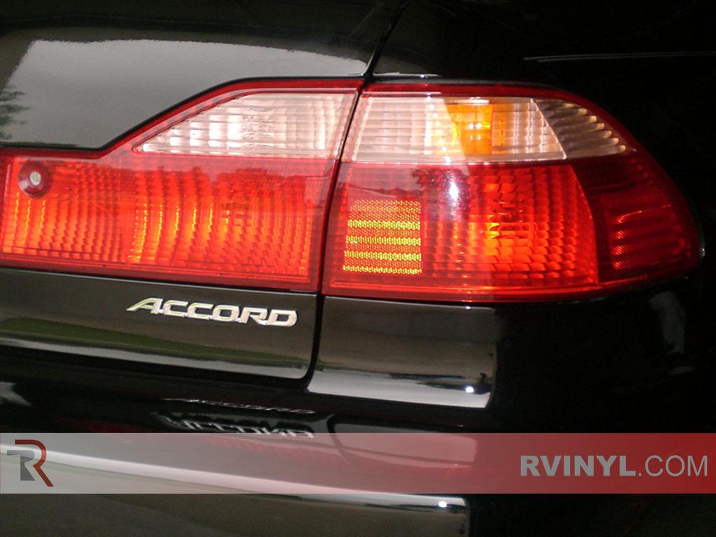 Rtint 174 Honda Accord Sedan 1998 2002 Tail Light Tint Film