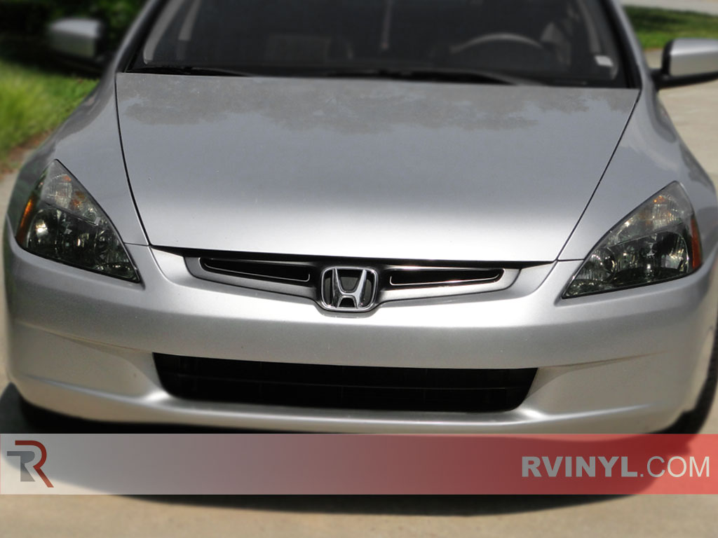 Honda Accord Sedan 2003-2005 Smoked Headlights