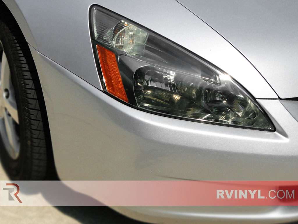 Honda Accord Sedan 2003-2005 Blackout Headlights