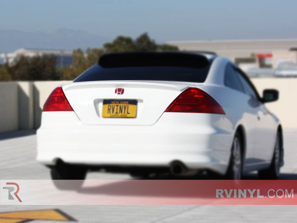 Rtint Honda Accord Coupe 2003 2005 Tail Light Tint Film