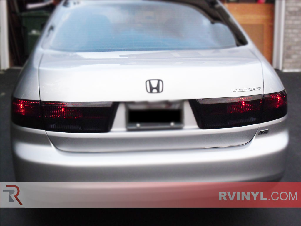 Honda Accord Sedan 2003 2005 Tail Light Tints