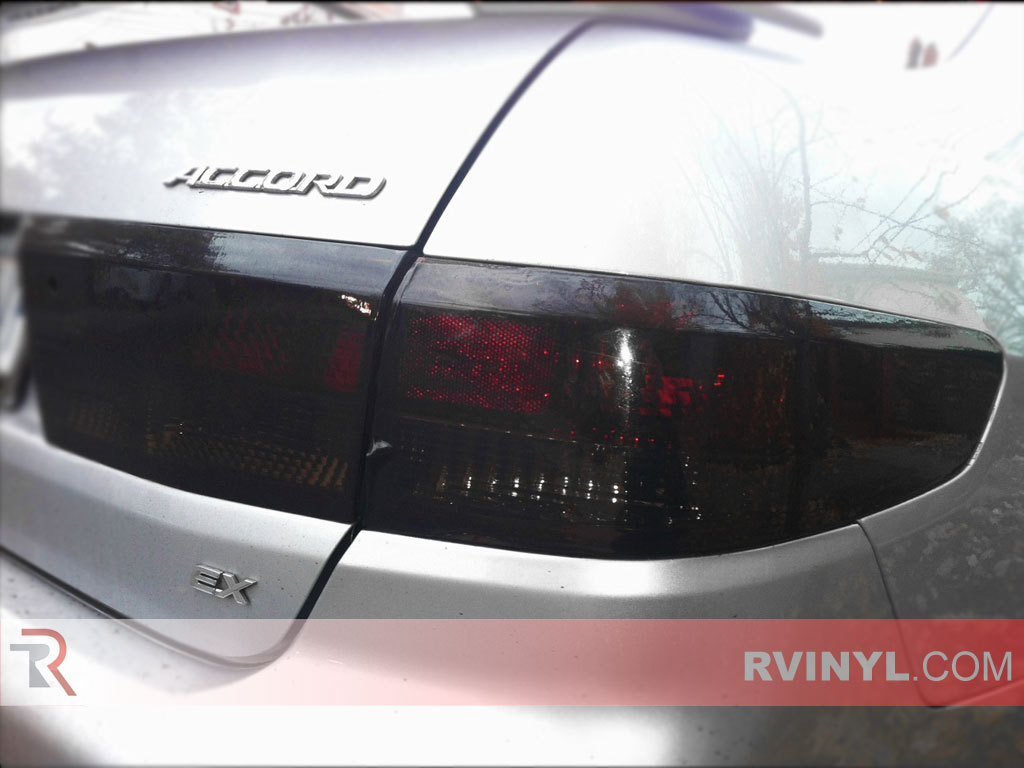 Honda Accord Sedan 2003 2005 Blackout Tail Lights