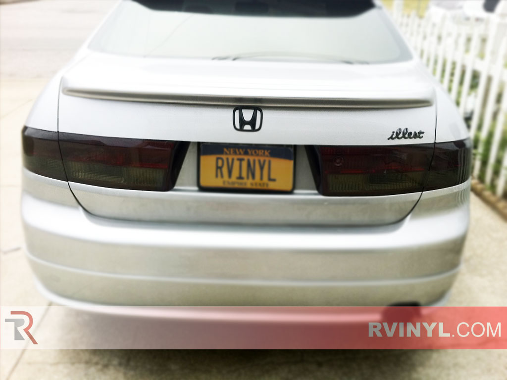 Honda Accord Sedan 2003 2005 Custom Tail Lights