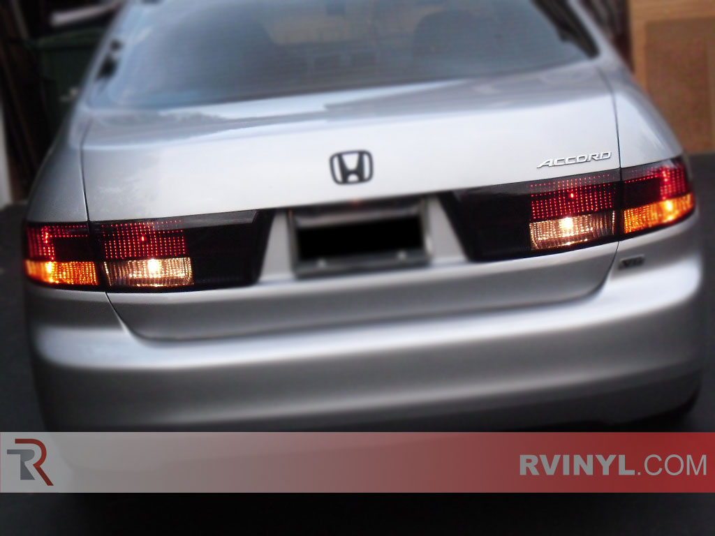 Honda Accord Sedan 2003 2005 Blackout Tail Lamps