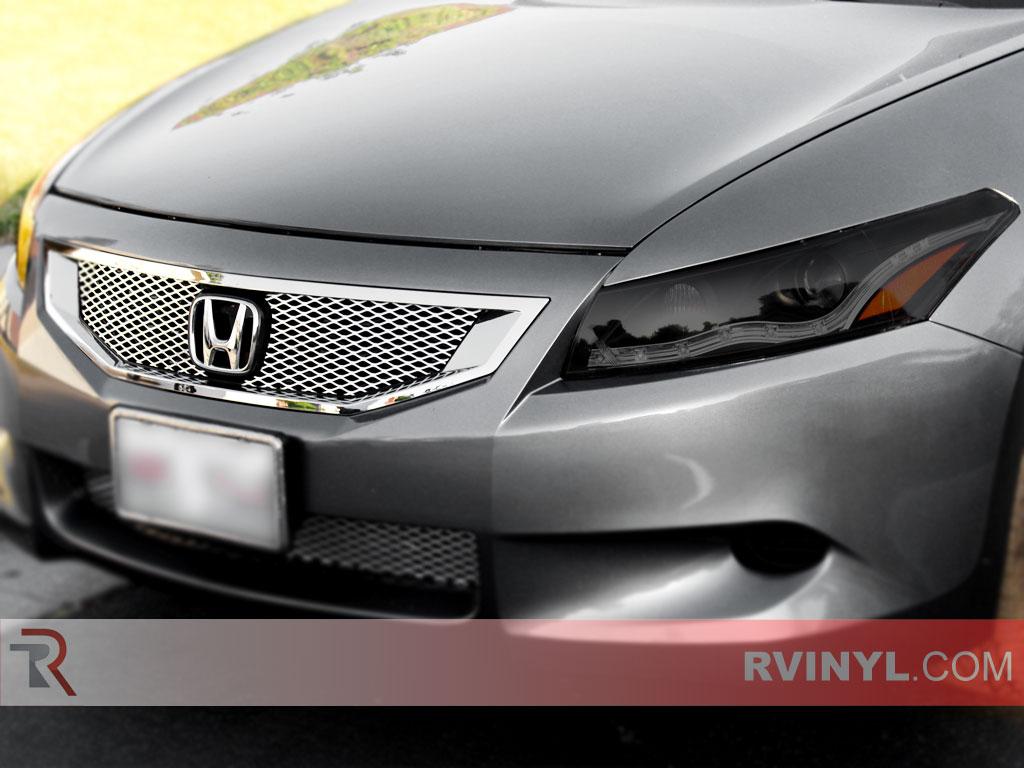 Rtint Honda Accord Coupe 2008 2012 Headlight Tint Film