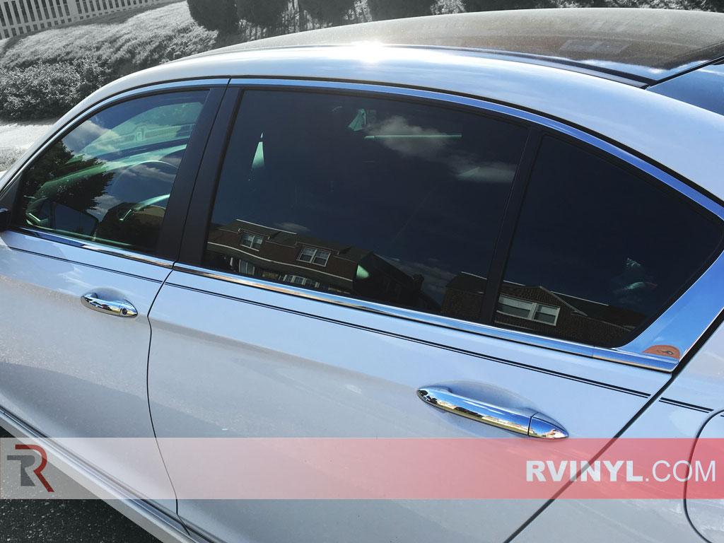 Rtint honda accord 2013 2017 sedan window tint kit diy for Honda window tinting