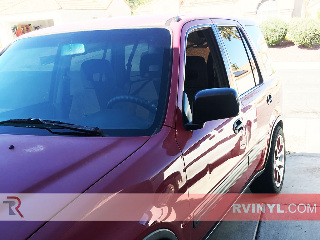 Rtint honda cr v 1997 2001 window tint kit diy precut for 1997 honda crv window motor replacement