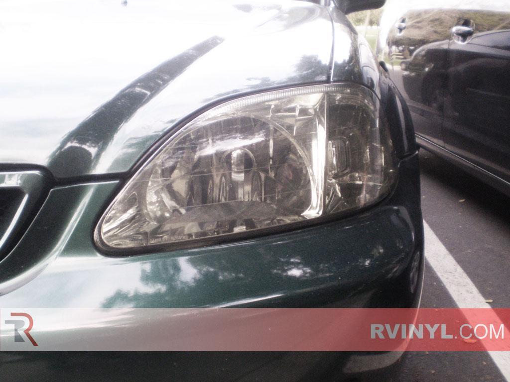 Rshield Honda Civic 1999 2000 Headlight Protection Kits