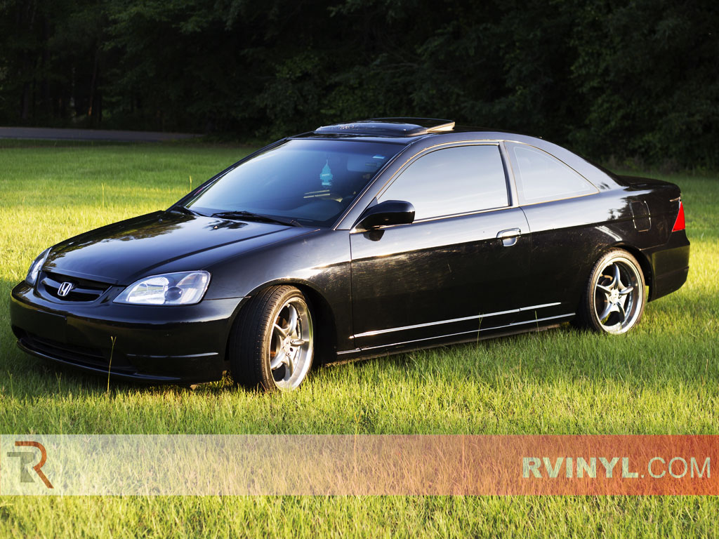 Precut Honda Civic Coupe Tint Kit