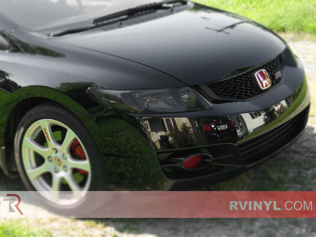 Honda Civic Coupe 2006 2011 Tinted Headlights