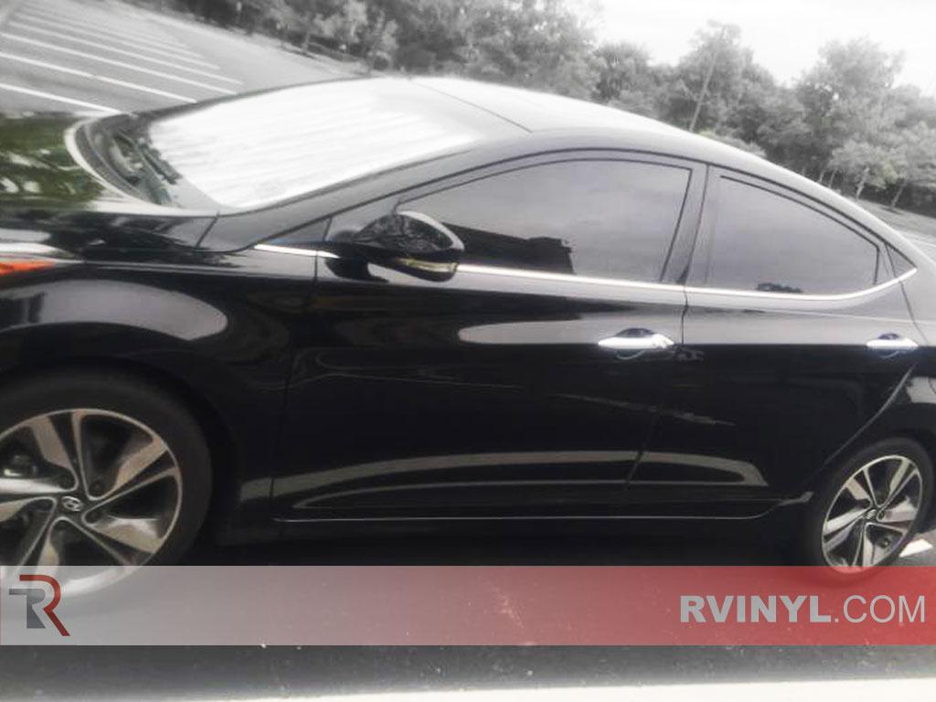 Front Window Tint >> Rtint Hyundai Elantra 2013 2016 Window Tint Kit Sedan