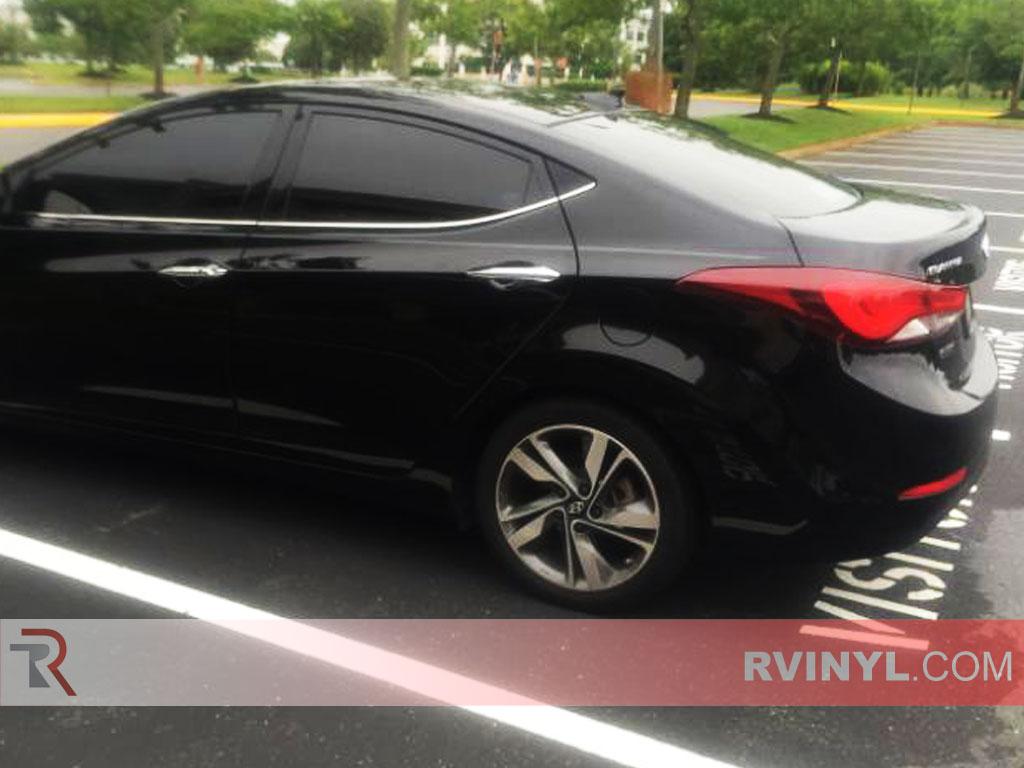 Rtint Hyundai Elantra 2013 2016 Sedan Window Tint Kit