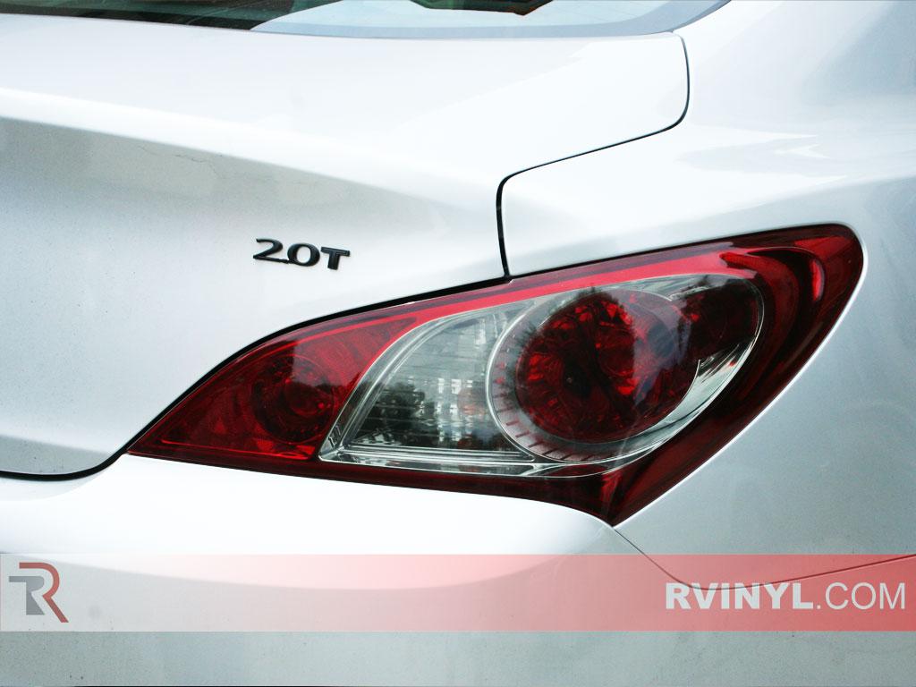 hyundai genesis coupe 2010 2012 precut tail light tint
