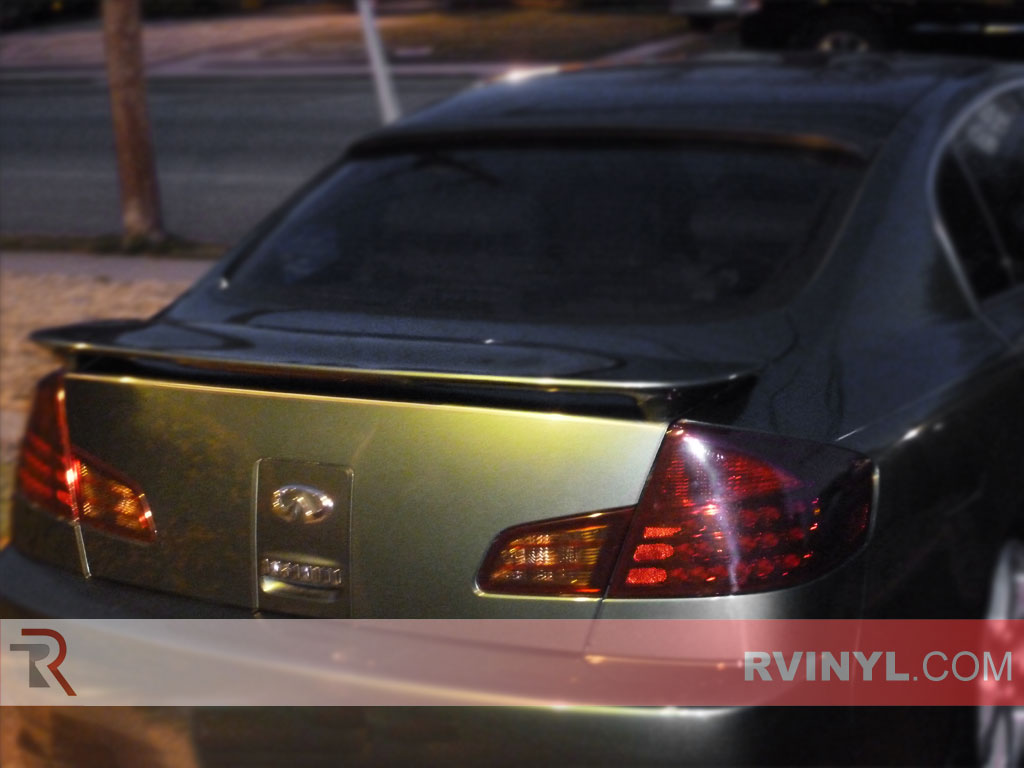 Infiniti G35 Sedan 2003 2006 Tail Light Tints