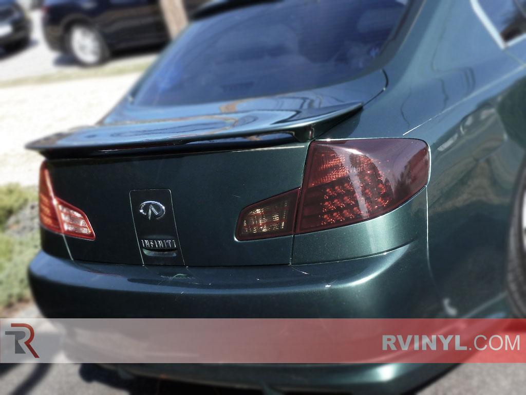 Infiniti G35 Sedan 2003 2006 Smoked Tail Lights