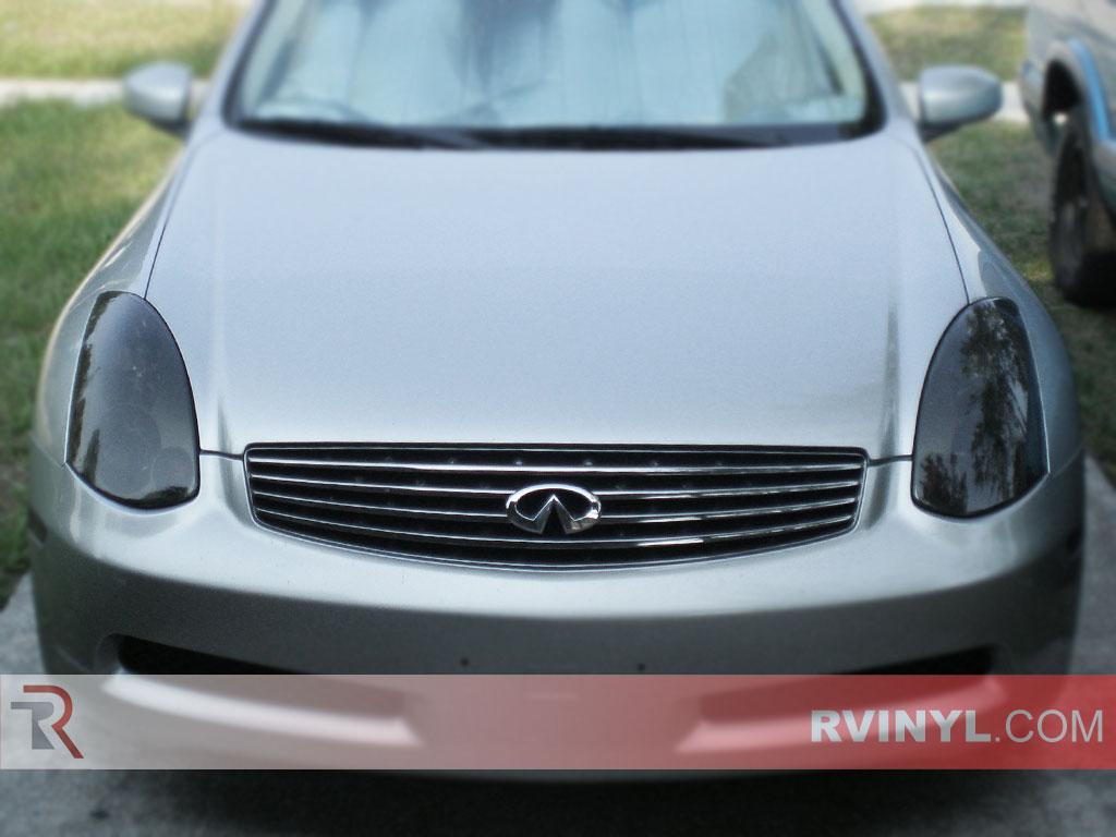 Infiniti G35 Coupe 2003 2007 Custom Headlights