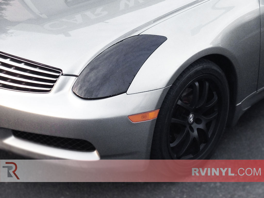 Rtint Infiniti G35 Coupe 2003 2007 Headlight Tint Film