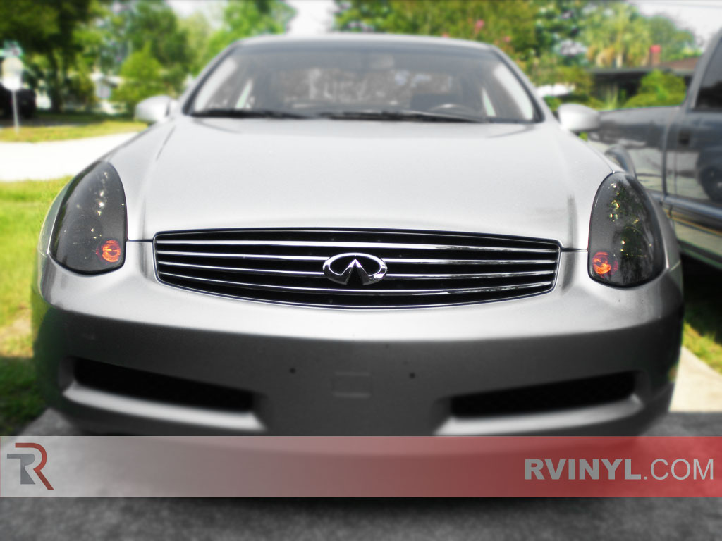 Infiniti G35 Coupe 2003 2007 Tinted Headlamps