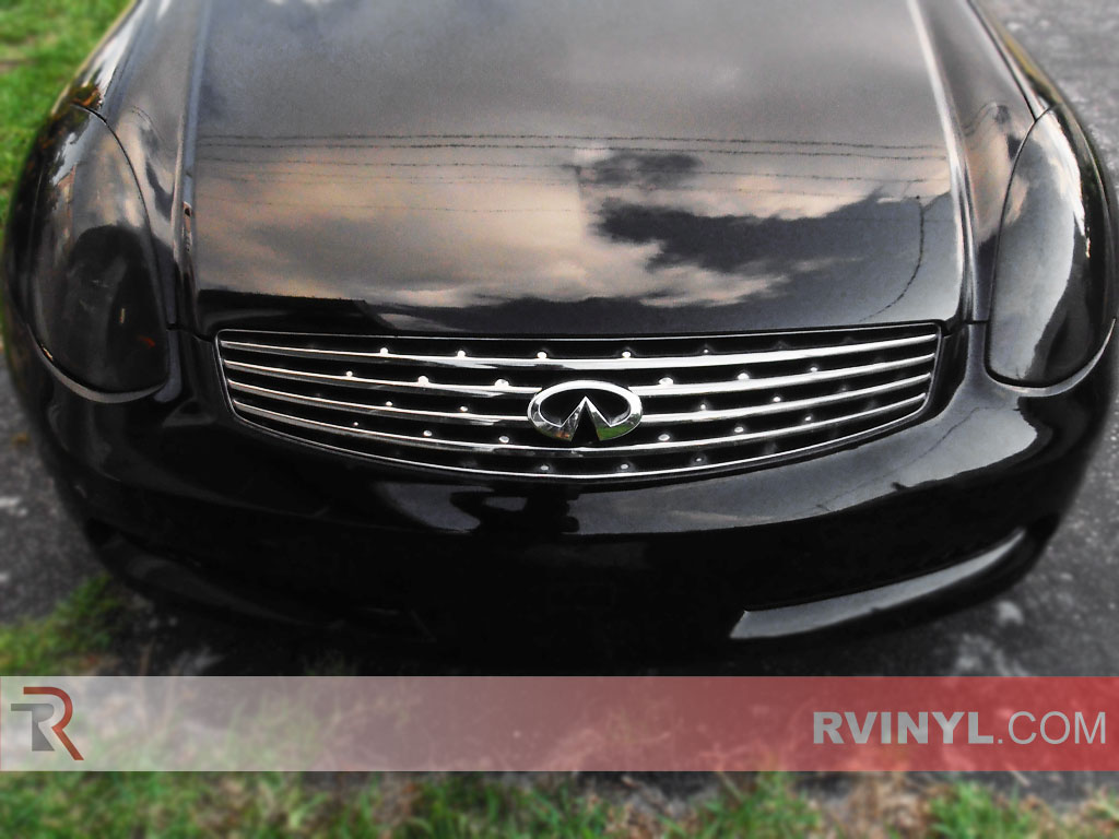 Rtint infiniti g35 coupe 2003 2007 headlight tint film infiniti g35 coupe 2003 2007 custom headlamps vanachro Gallery