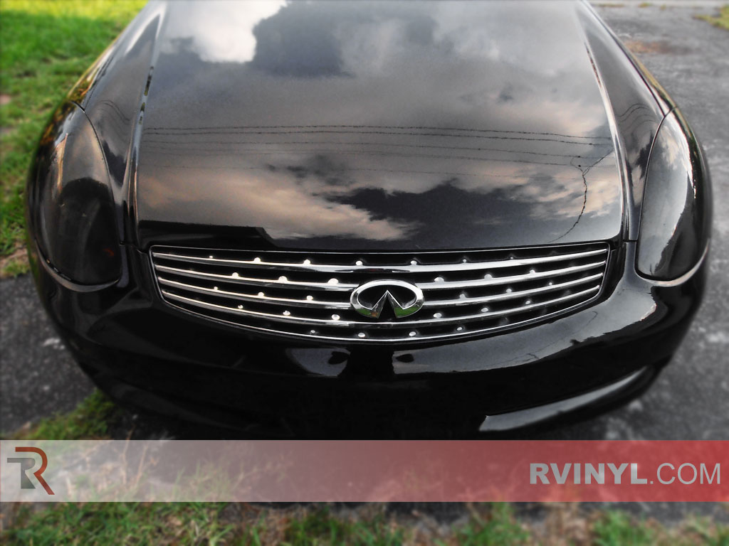 Infiniti G35 Coupe 2003 2007 Headlight Tints