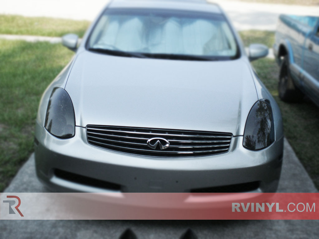 Infiniti G35 Coupe 2003 2007 Tinted Headlights