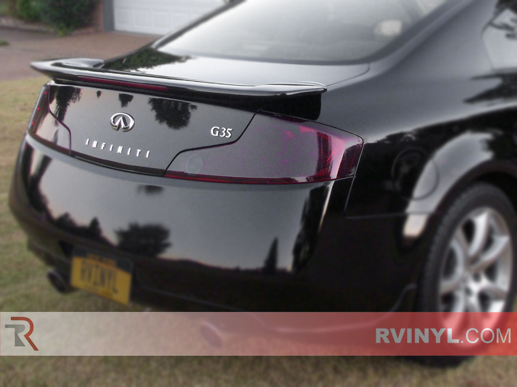 Infiniti G35 Coupe 2003 2007 Tail Light Covers