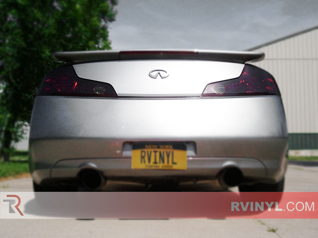 Rtint infiniti g35 coupe 2003 2007 tail light tintfilm infiniti g35 coupe 2003 2007 custom tail lights vanachro Gallery
