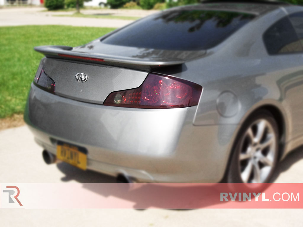 100 reviews infiniti g35 coupe 2003 on margojoyo rtint infiniti g35 coupe 20032007 tail light tintfilm vanachro Image collections