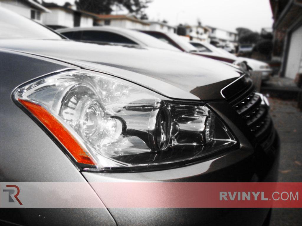 Rtint infiniti m35 2006 2010 headlight tint film infiniti m35 2006 2010 smoked headlights vanachro Gallery