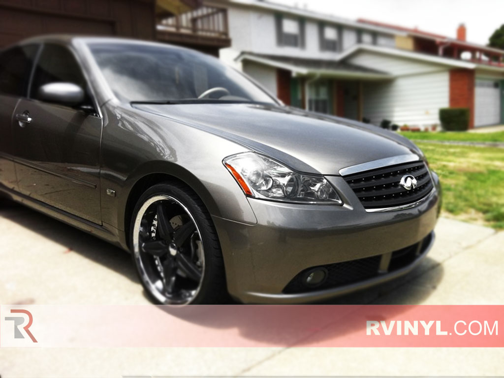 Rtint Infiniti M35 2006 2010 Headlight Tint Film