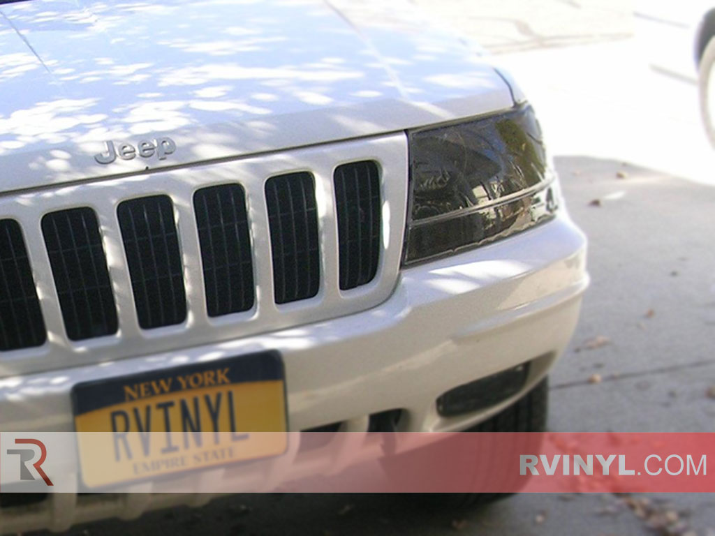 Jeep Grand Cherokee 1999-2003 Headlight Tints